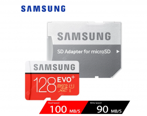 Samsung UHS-3 Class10 Micro SDXC Memory Card – Red 128GB