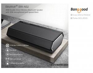 BlitzWolf® BW-AS2 – Europeu