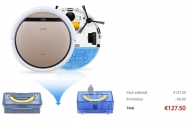 ILIFE V5S Pro Intelligent Robotic Vacuum Cleaner– Espanha
