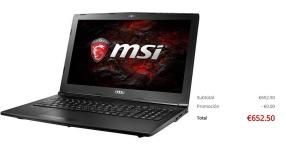 MSI GL62M 7RD – 223CN Gaming Laptop