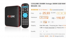 COOLEME CM-MM1 TV-Box