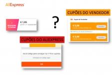 Como usar os cupões no Aliexpress?