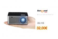 T200 Mini Micro LED Projector