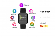 Tourya B57 Smart Watch Waterproof