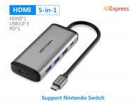 Vention USB-C HUB Type C HUB