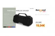 Portable bluetooth 5.0 Subwoofer Speaker