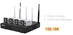 ESCAM WNK403 Wireless 720P DVR Kit Security