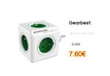 Cube Socket 5 EU Plug