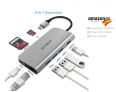 Hubs USB-C na Amazon