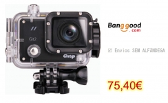 GitUp Git2 Pro 2K WiFi Action Camera