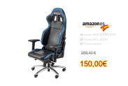 Sparco 00975NRAZ Office Chair