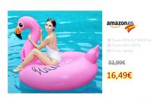 Flamenco Inflable Flotador Gigante 170cm
