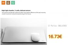 Xiaomi Metal Style Mouse Pad – Silver Size L