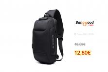 OZUKO Chest Bag USB External Charging