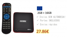 Mecool M8S PRO W – 2GB RAM da Europa