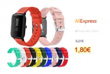 20mm Soft Silicone Wrist Strap For Xiaomi Huami Amazfit Bip