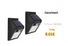 20-LED Wireless Motion Sensor Solar