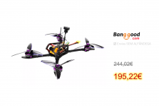 HGLRC 4-5S Mefisto 226MM FPV Racing Drone