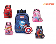 School Bags Cartoon Backpack