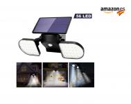 OUSFOT Luz Solar Exterior 56 LED