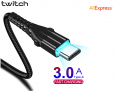Twitch 3A USB Type C Cable