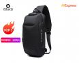 OZUKO Chest Bag USB