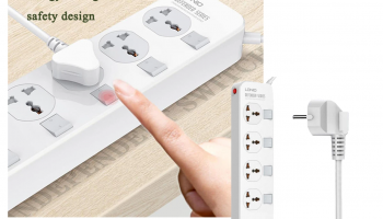 LDNIO 2500W Power Strip