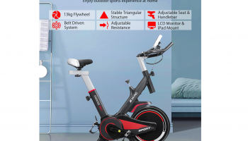 Xmund XD-XB1 LCD Exercise Bike