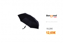 Konggu WD1 1-2 People 3 Folding Automatic Umbrella