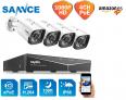 SANNCE Kit de Vigilancia