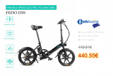 FIIDO D3S Bike Gear Shifting Version