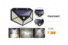 100 LED Solar Powered 1000lm