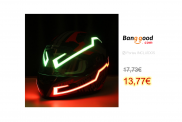 Rechargable Helmet Light