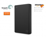 Seagate Disco externo portátil de 5TB