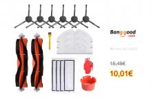 18PCS Accessories Main Brush  For Xiaomi Robot Vacuum Cleaner