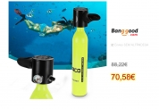 500ML Mini Air Tank Cylinder Oxygen