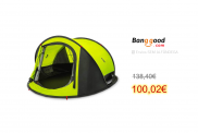 ZENPH 3-4 People Automatic Camping Tent