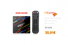 H96 Max plus TV-Box