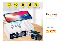Qi Wireless Phone Charger QC3.0