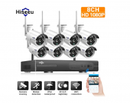 Hiseeu 1080P Wireless CCTV