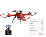 FEILUN FX176C2 GPS Brushed RC Quadcopter