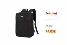 Laptop Backpack Mens Shoulder Bag Laptop
