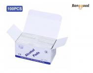 100Pcs Disposable Alcohol Pads