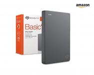 Seagate Basic portátil, 4TB