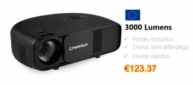 Cheerlux CL7603000 Lumens Armazém Europeu