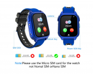 Impermeable GPS Smartwatch