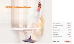 VC – S1603 2 in 1 Vacuum Cleaner – ORANGE