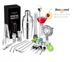 22PCS/Set Cocktail Shaker