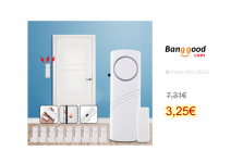 Smart Door Window Security Alarm Kit