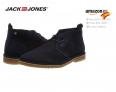 Jack & Jones Jfwgobi Suede Navy Blazer